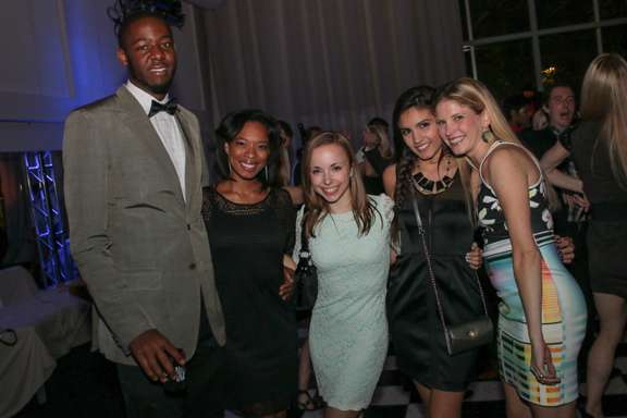 Eugene Whatley, Taylor Cobb, Alice Wells, Isabel Jadick and Emily O'Dell.